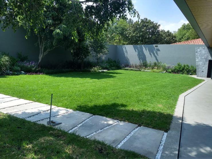 Jardín Interior Residencial AAVE Diseño y Construcción Casitas de jardín
