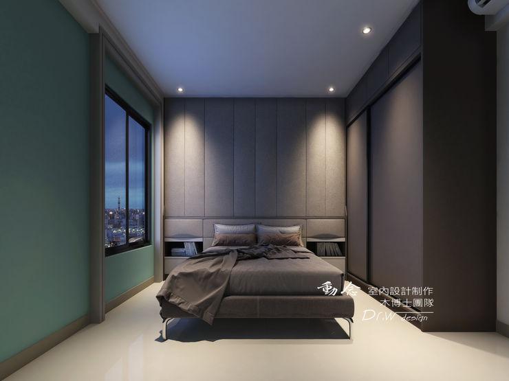 主臥室 木博士團隊/動念室內設計制作 臥室