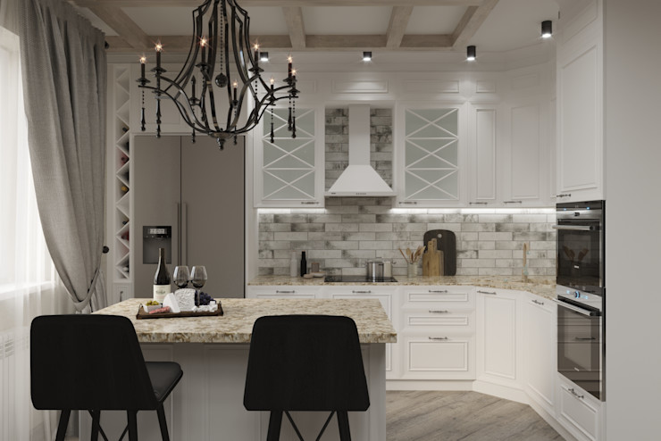 Евгения Ковалева Living room Stone White