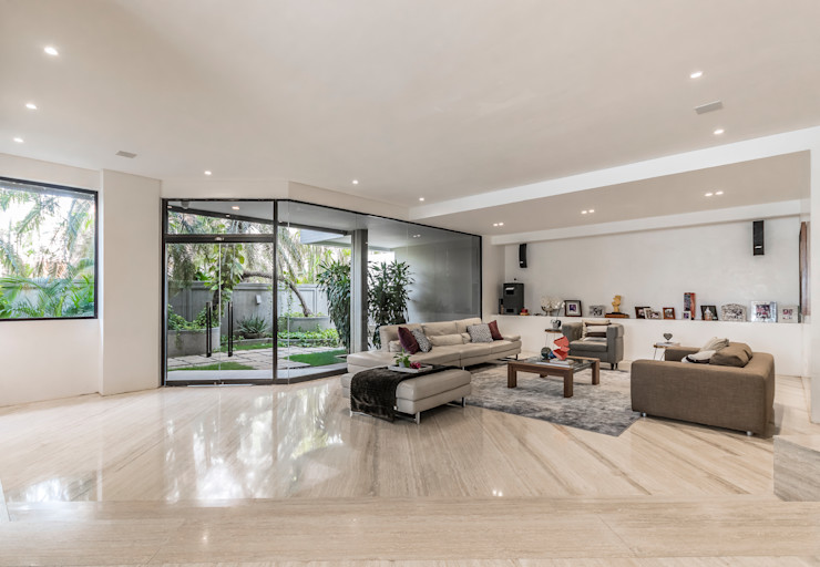 SALA Design Group Latinamerica Salas de estilo moderno