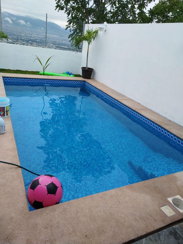 SERVICIOS Y ACABADOS PARA LA CONSTRUCCION Pool Concrete Blue