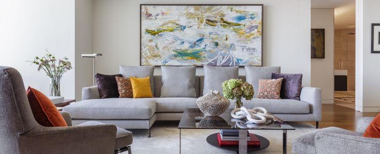 Tullpu Diseño & Arquitectura Modern living room Grey