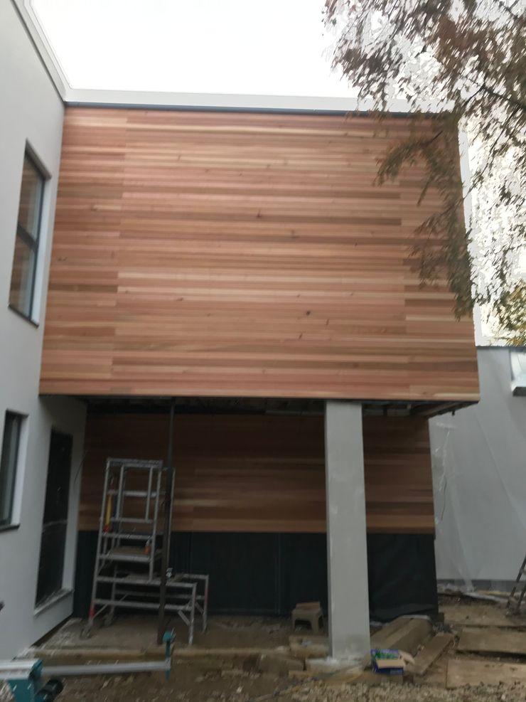 Treeland House Abodde Luxury Homes Modern garage/shed