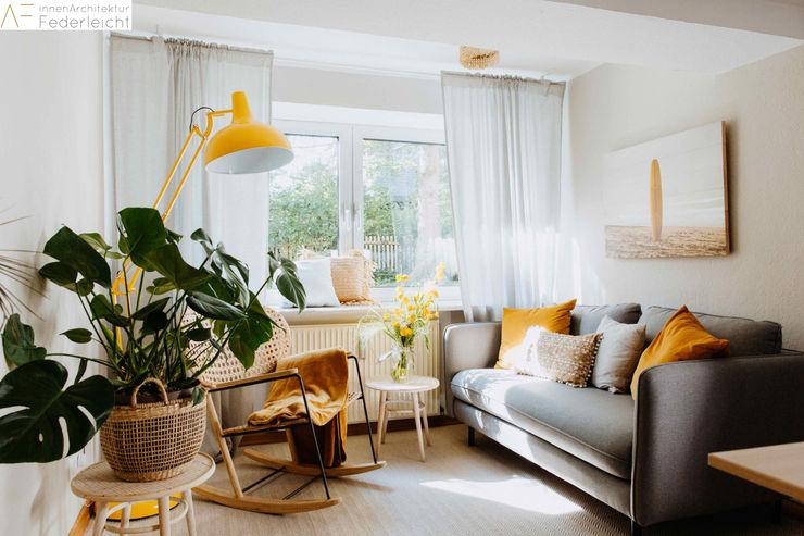 Lounge Innenarchitektur Federleicht Moderne Bürogebäude Bernstein/Gold