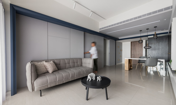 肯星室內設計 Modern Living Room