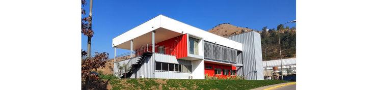 Oficinas Quimica Harting DDIS Arquitectos Oficinas y Comercios Aluminio/Cinc