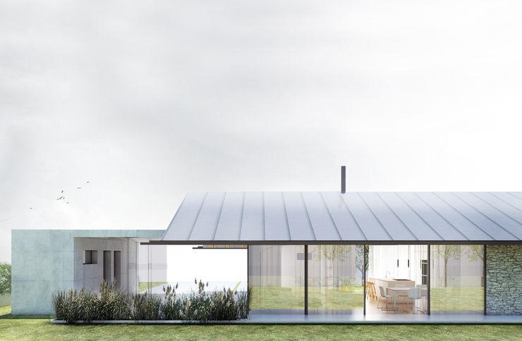 PROSPETTO NORD Paolo Nadin Architetto Case moderne