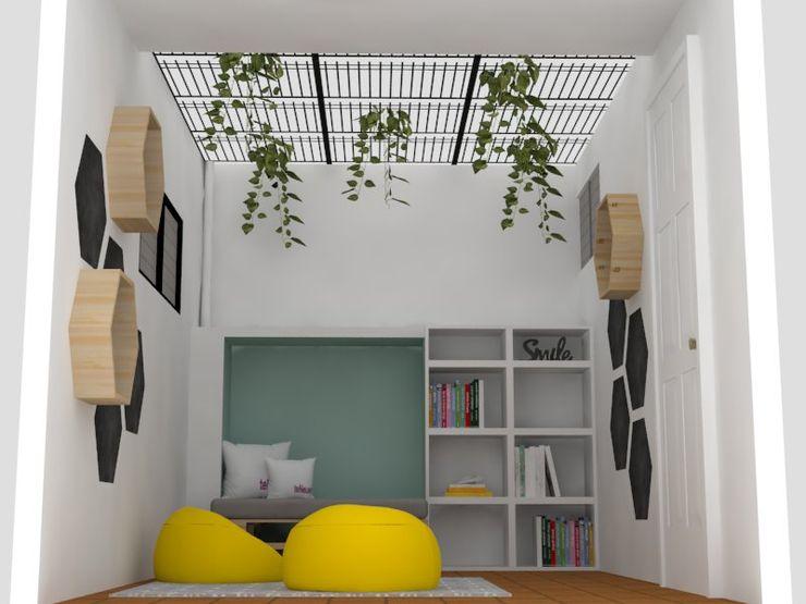 Zona de estudio Aranjuez Decó ambientes a la medida Dormitorios de estilo moderno