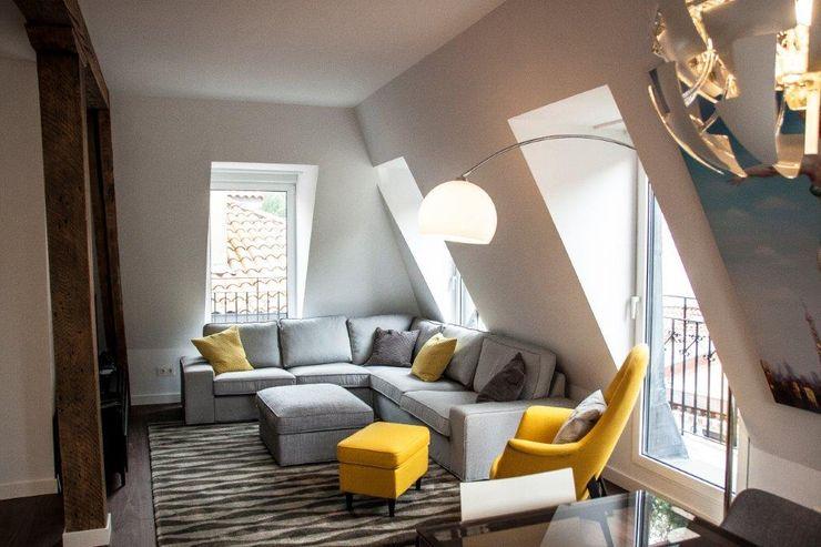 Sofa Gris MUEBLES DG ComedorAccesorios y decoración