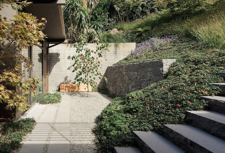 Feldman Architecture Modern balcony, veranda & terrace