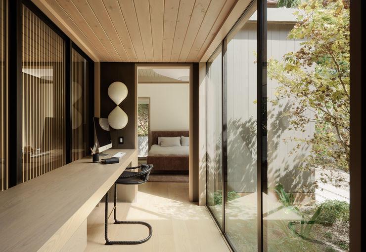 Feldman Architecture Modern study/office