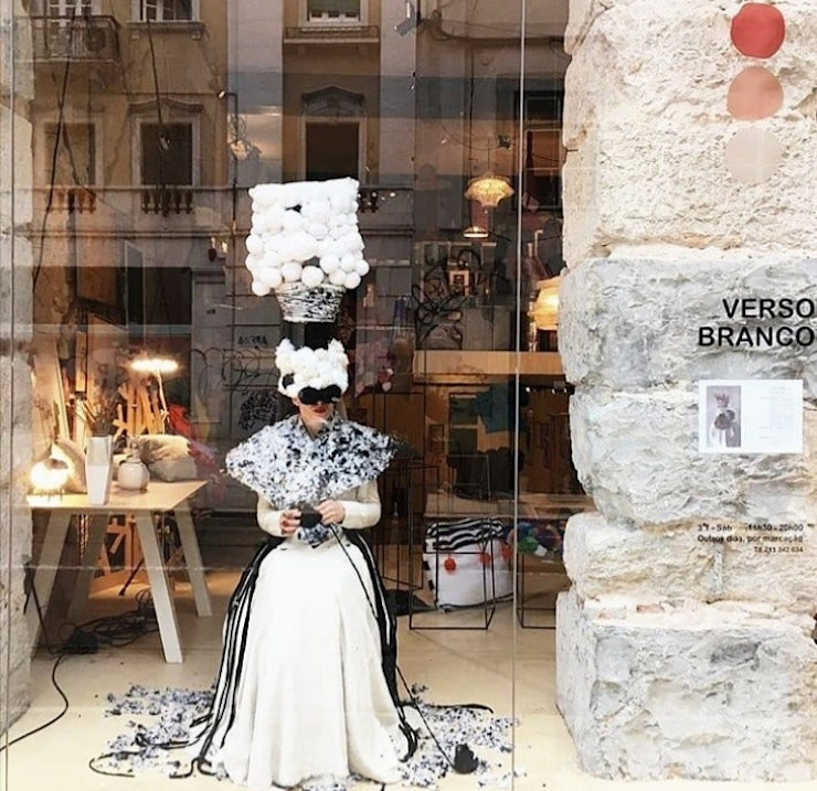 Escaparatismo | Porte.A | Tack 01 Ana Salomé Branco ArteObjetos artísticos Lana Blanco