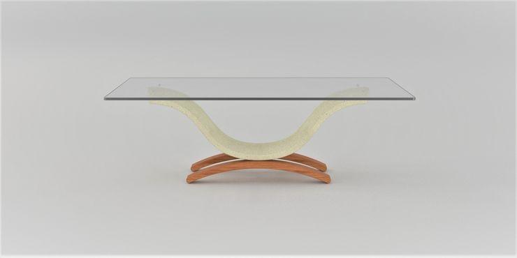 Tavolino da salotto Omar DABLEC di Tiziano Moletta SoggiornoTavolini Sintetico Beige