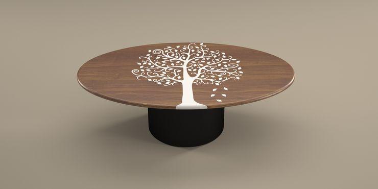 Tavolino da salotto Camus DABLEC di Tiziano Moletta SoggiornoTavolini Sintetico Nero