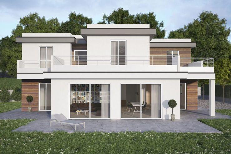 "Feng Shui design e Architettura: ""La casa Feng Shui"" Feng Shui Studio Case moderne"