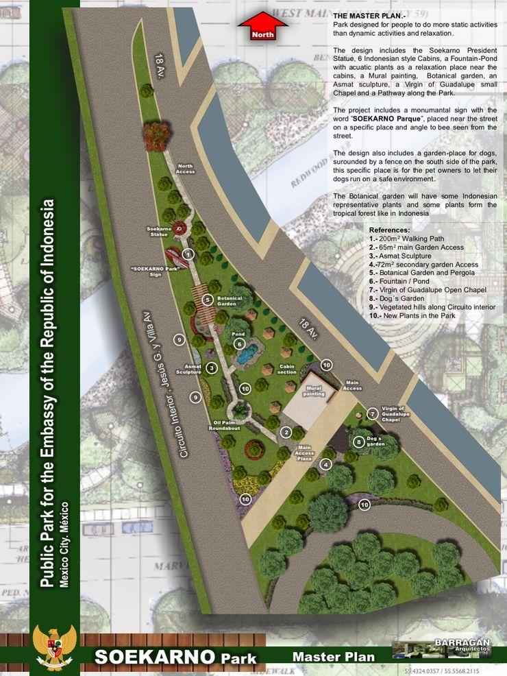 Proyecto maestro BARRAGAN ARQUITECTOS Exhibition centres
