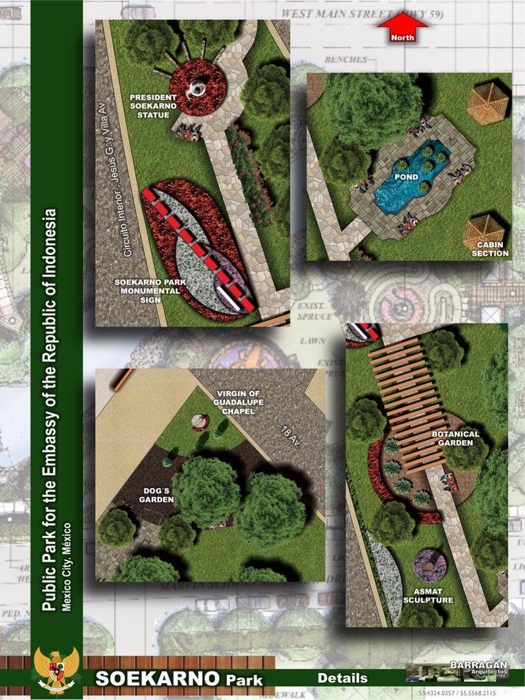 Propuesta de la primera y subsecuentes etapas BARRAGAN ARQUITECTOS Exhibition centres