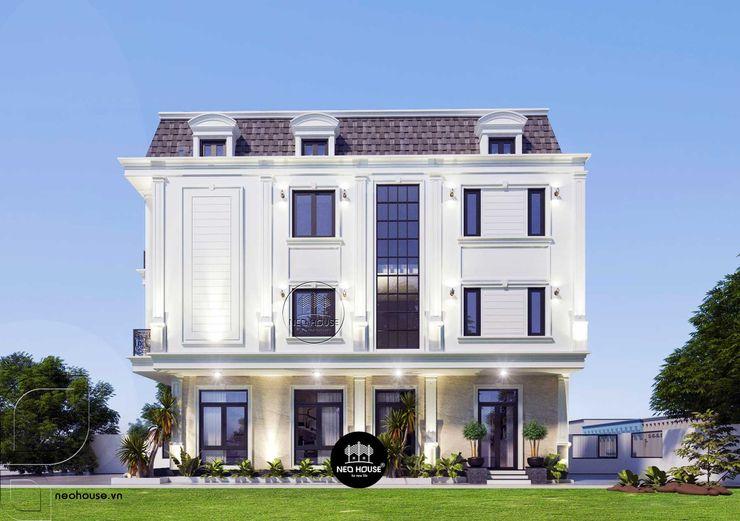 Thiết kế biệt thự 3 tầng bán cổ điển tại Mỹ Tho NEOHouse