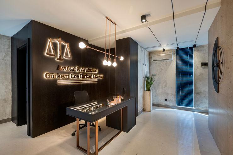 Mimoza Mimarlık Offices & stores Grey