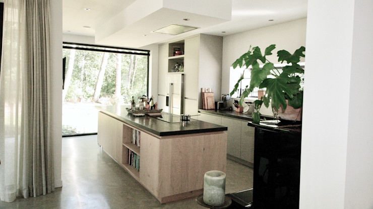 ddp-architectuur Kitchen units Wood Wood effect