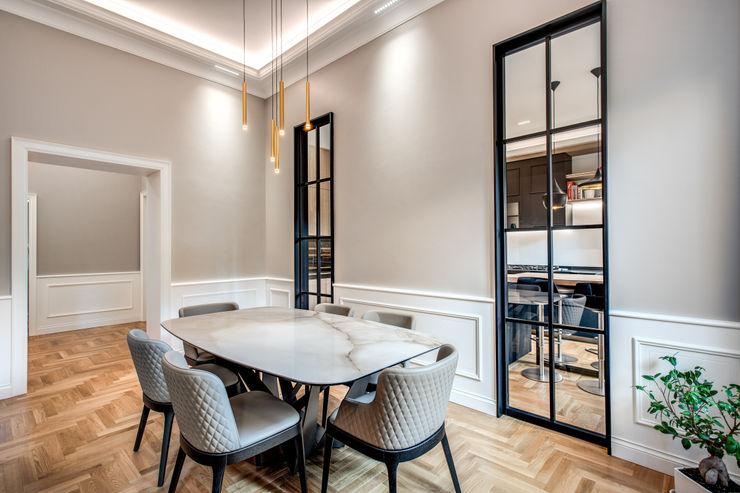 PARIOLI MOB ARCHITECTS Sala da pranzo moderna