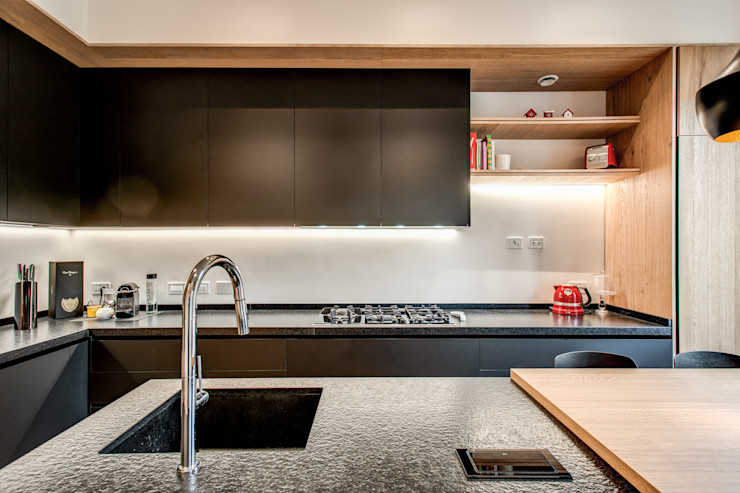 PARIOLI MOB ARCHITECTS Cucina moderna