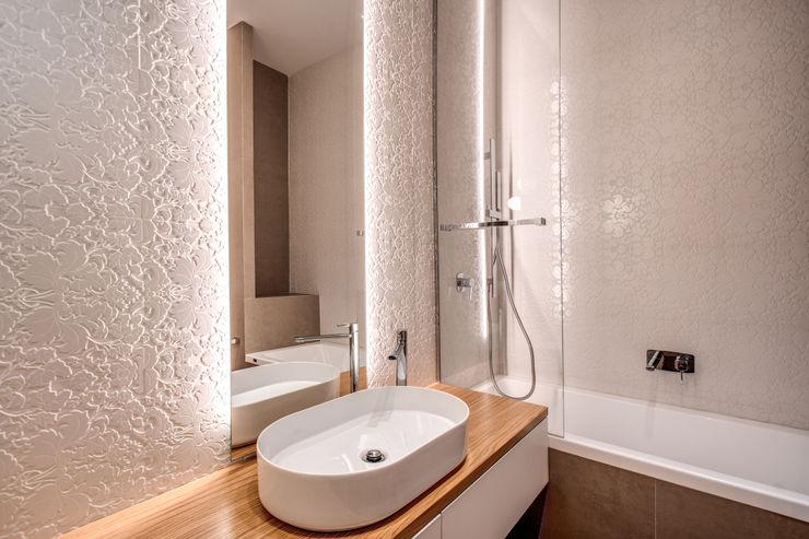 PARIOLI MOB ARCHITECTS Bagno moderno