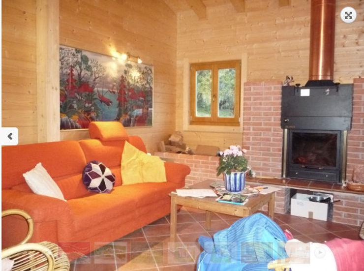 studio casa in sabina Pasquale Fonte Cucina attrezzata Legno Arancio