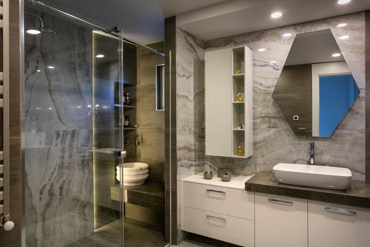 NURİ YELKOVAN EVİ Mimoza Mimarlık Klasik Banyo