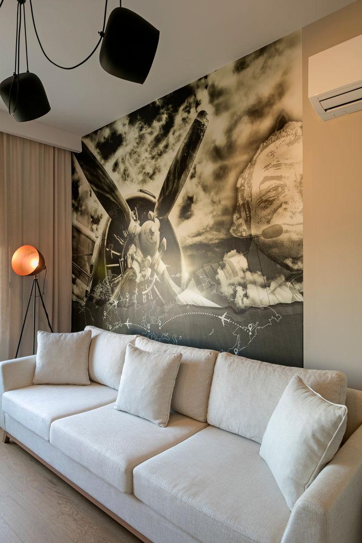 NURİ YELKOVAN EVİ Mimoza Mimarlık Klasik Çalışma Odası