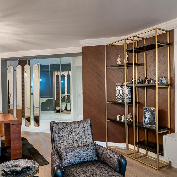 NURİ YELKOVAN EVİ Mimoza Mimarlık Klasik Oturma Odası