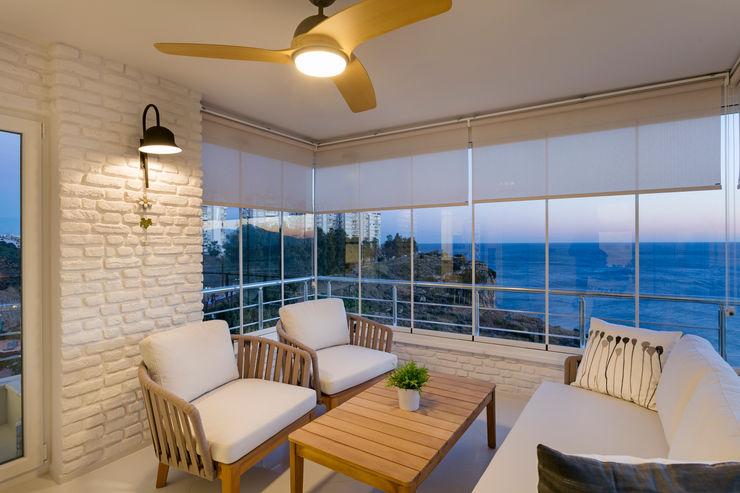 NURİ YELKOVAN EVİ Mimoza Mimarlık Balkon