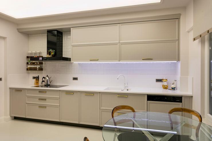 NURİ YELKOVAN EVİ Mimoza Mimarlık Klasik Mutfak