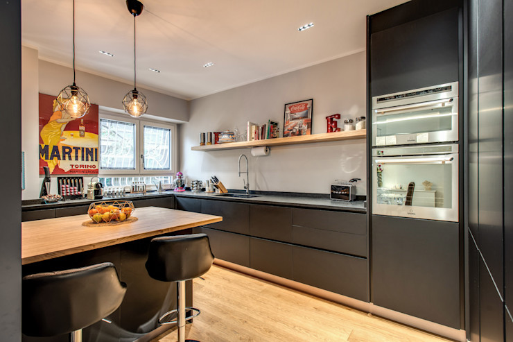 CAVALESE MOB ARCHITECTS Cucina moderna
