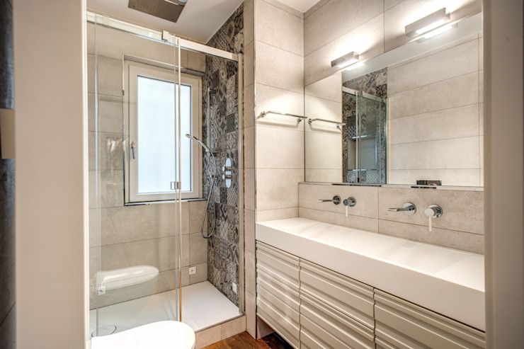 CAVALESE MOB ARCHITECTS Bagno moderno