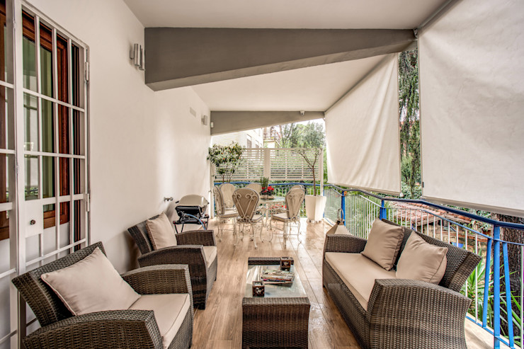 CAVALESE MOB ARCHITECTS Balcone