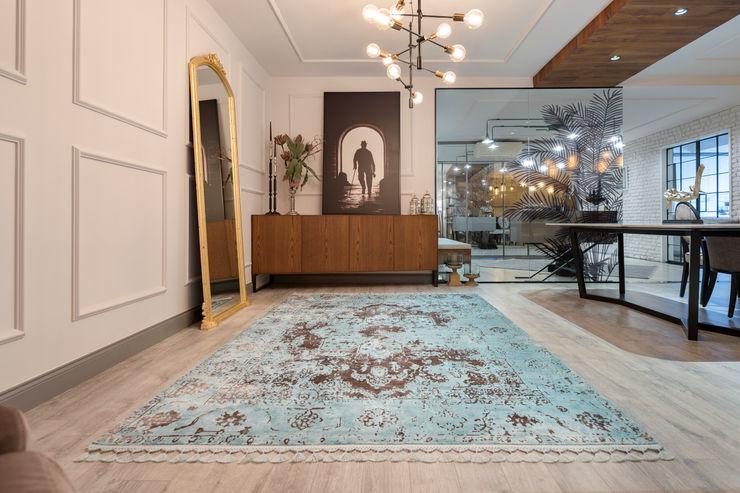 UĞUR BİRKAN EVİ Mimoza Mimarlık Eklektik Oturma Odası