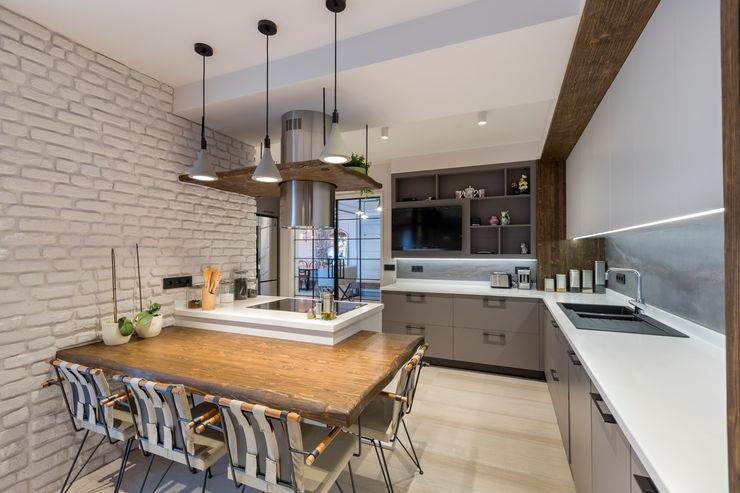 UĞUR BİRKAN EVİ Mimoza Mimarlık Eklektik Mutfak