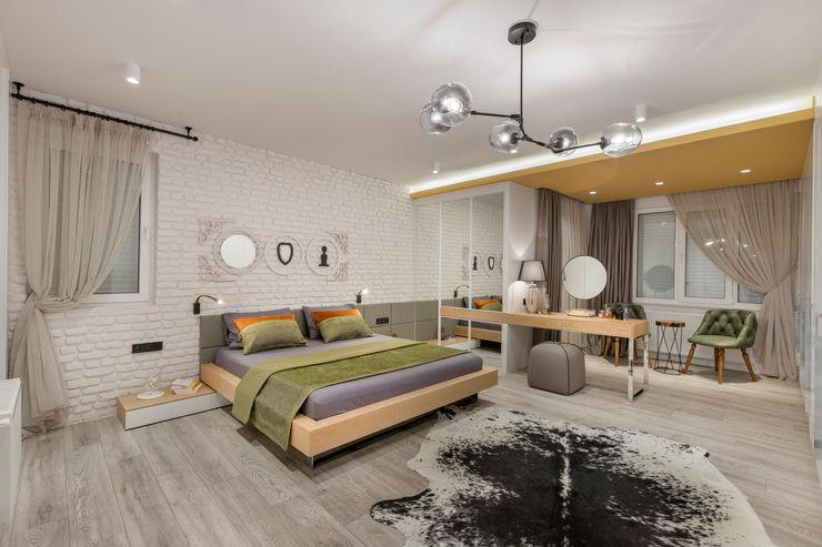 UĞUR BİRKAN EVİ Mimoza Mimarlık Eklektik Yatak Odası