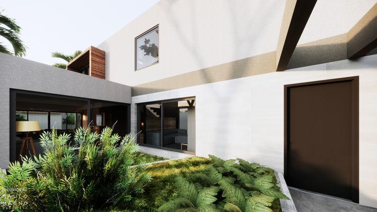 Saulo Magno Arquiteto 溫室 陶器 Grey