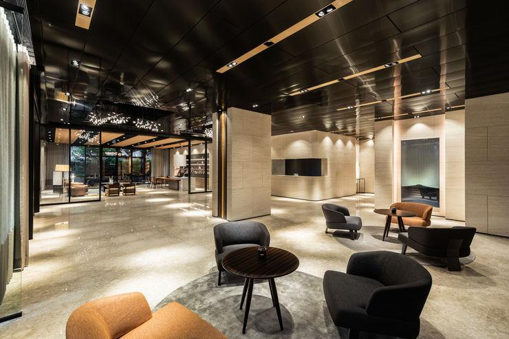 INTERIOR 城中建設-閱狷聲 公設 HIKARI IMAGE Interior landscaping