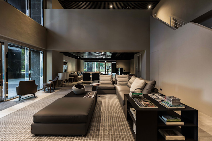 INTERIOR Flexform Showroom HIKARI IMAGE Interior landscaping