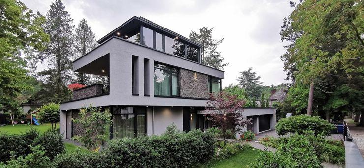 Flachdachhaus Avantecture GmbH Villa Weiß