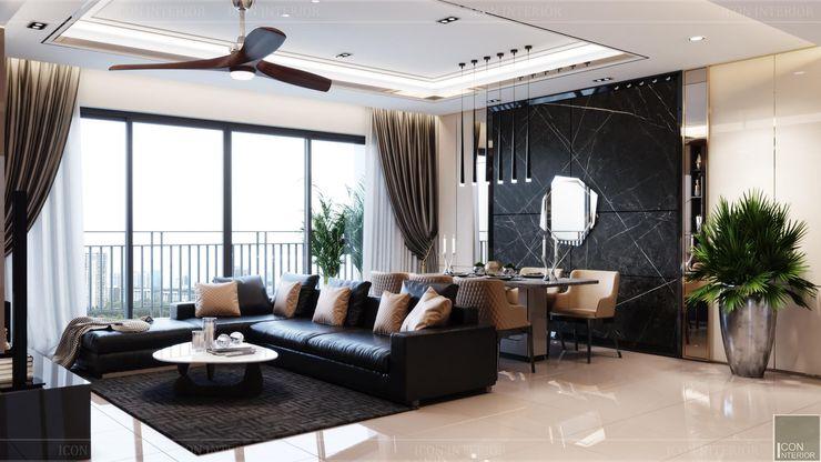 ICON INTERIOR Modern Living Room