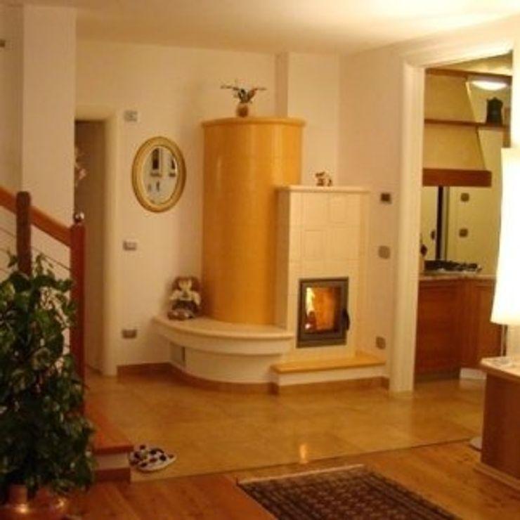 Dallago Stufe HouseholdAccessories & decoration Ceramic Yellow