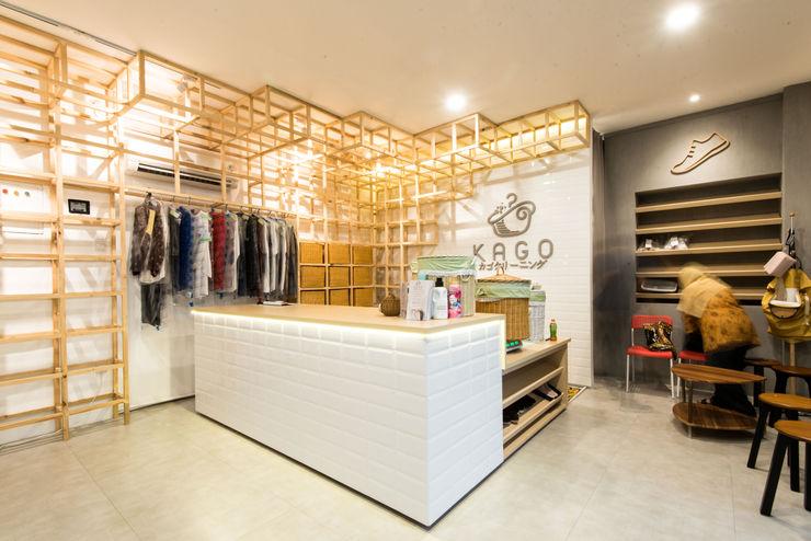 msas desain モダンな商業空間 セラミック 白色