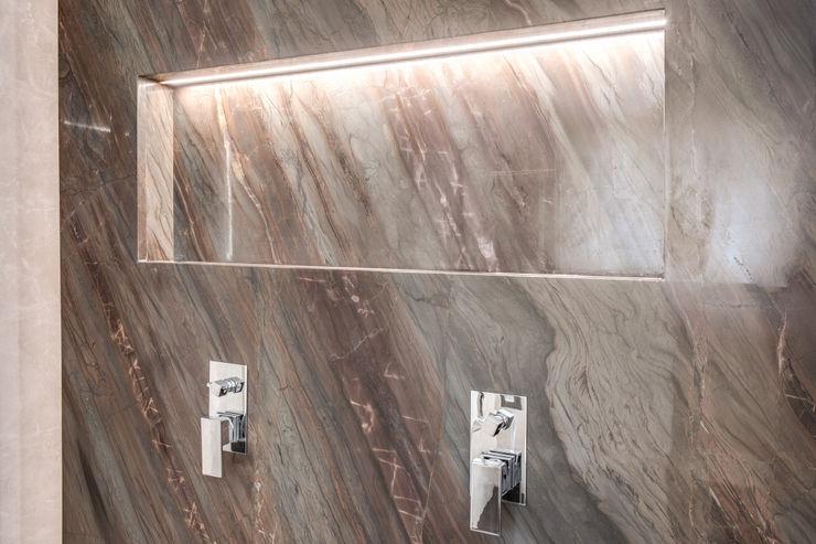 CORTINA D'AMPEZZO MOB ARCHITECTS Bagno moderno