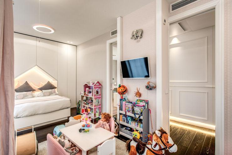 CORTINA D'AMPEZZO MOB ARCHITECTS Camera da letto moderna