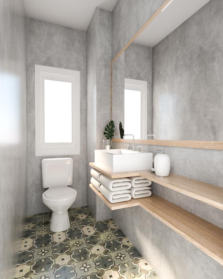 Bhavana Rustic style bathroom