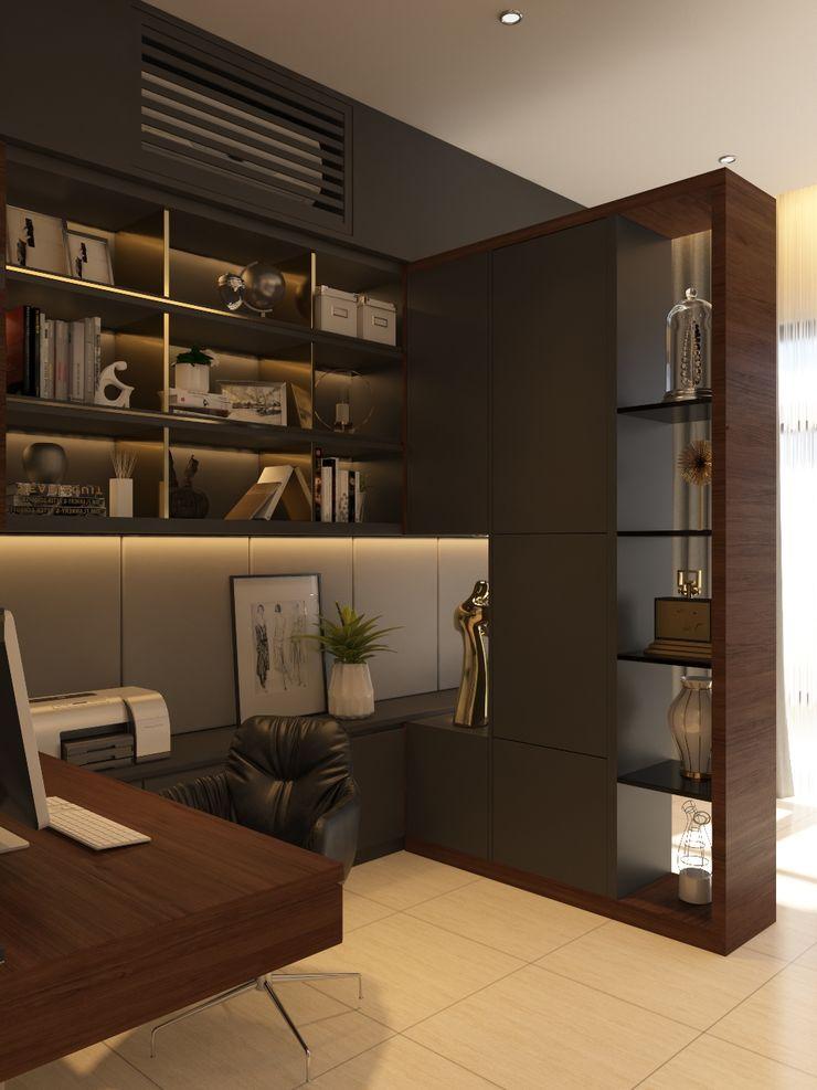 Norm designhaus Ruang Studi/Kantor Modern